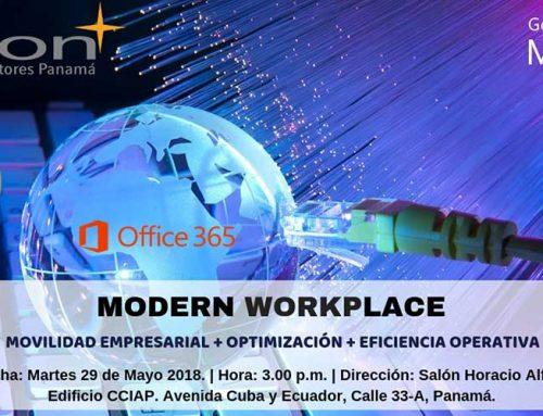 Orion Consultores presentó el Modern Workplace en Panamá