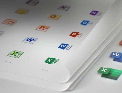 ¡Los íconos de tus aplicaciones favoritas de OFFICE 365 evolucionan!