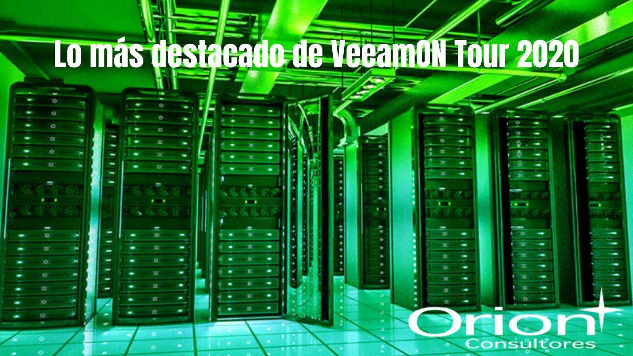 Lo más destacado de VeeamOn Tour 2020